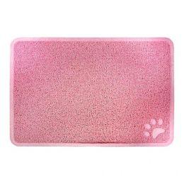 Tapete para Cachorro e Gato Trap Mat Porta Comedouro Jambo Pet Rosa