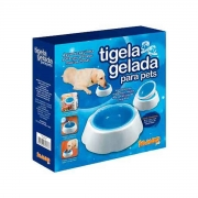 Tigela Gelada + Tapete Gelado New Cool Strip Jambo