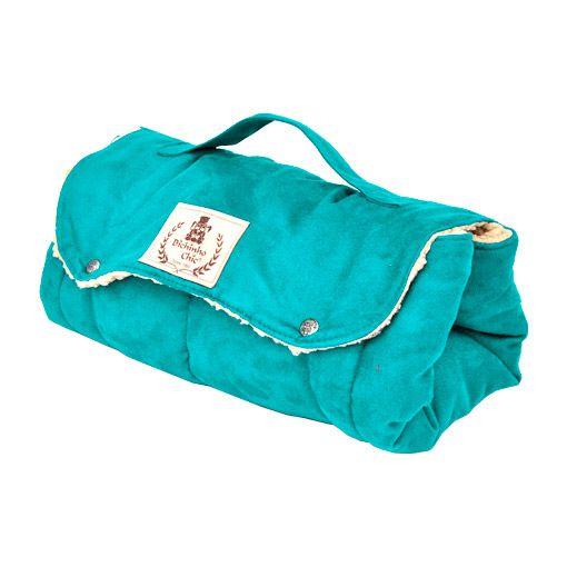Acolchoado Luxo Bichinho Chic Verde - Tamanho M