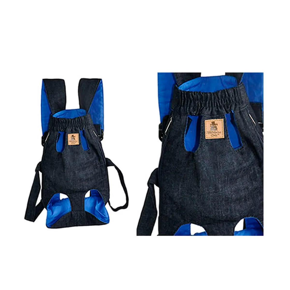 Bolsa Canguru Bichinho Chic Azul
