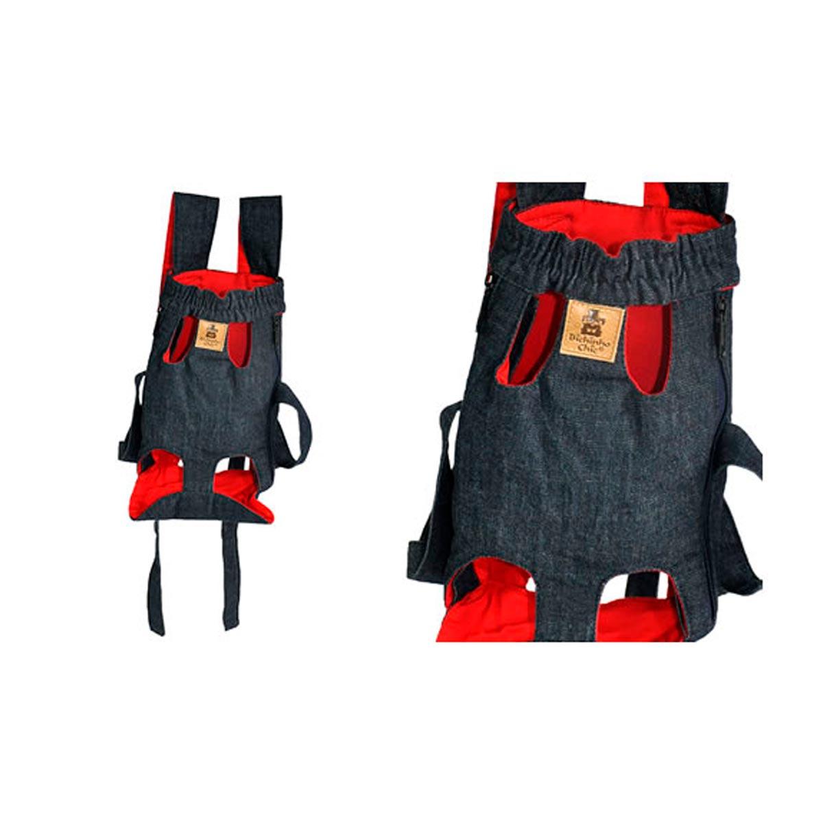 Bolsa Canguru Bichinho Chic Vermelha