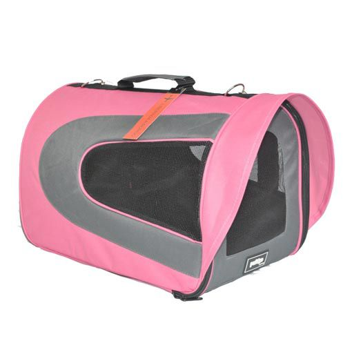 Bolsa de Transporte Pet&Go para Cabine de Avião Pandora - Rosa