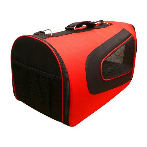 Bolsa de Transporte Pet&Go para Cabine de Avião Pandora - Vermelha