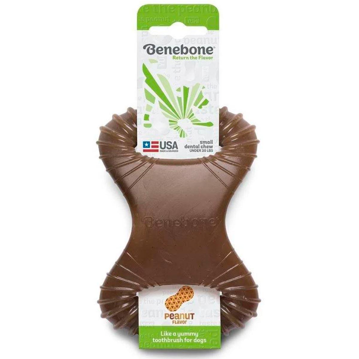 Brinquedo Benebone Dental Chew Amendoim