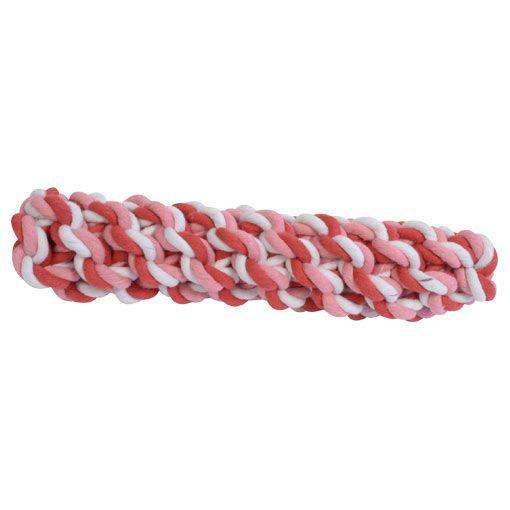 Brinquedo de Corda para Cães Sticker Rosa Pet Flex Toys