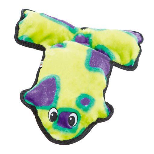 Brinquedo de Pelúcia Outward Hound Sapo Super Resistente para Cachorro