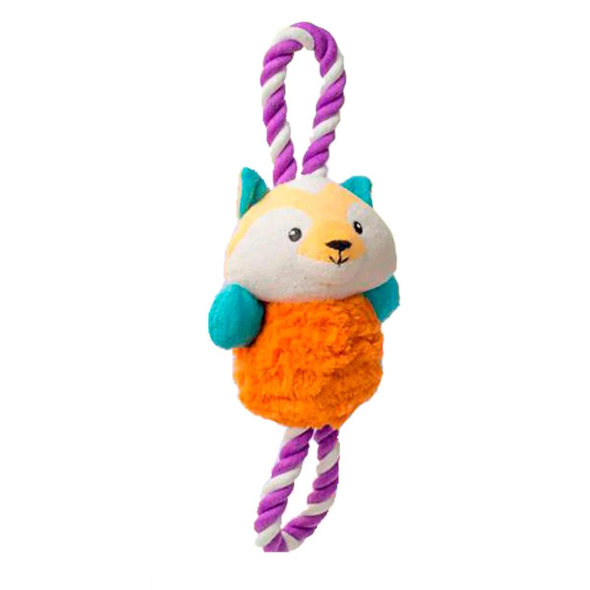 Brinquedo de Pelúcia para Cachorro Cabo de Guerra Raposa Infinity Adoleta
