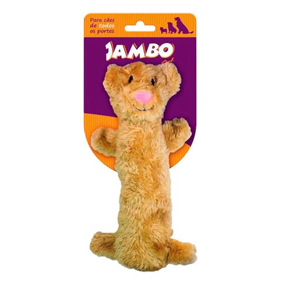 Brinquedo de Pelúcia para Cachorro Plush Tigre Jambo