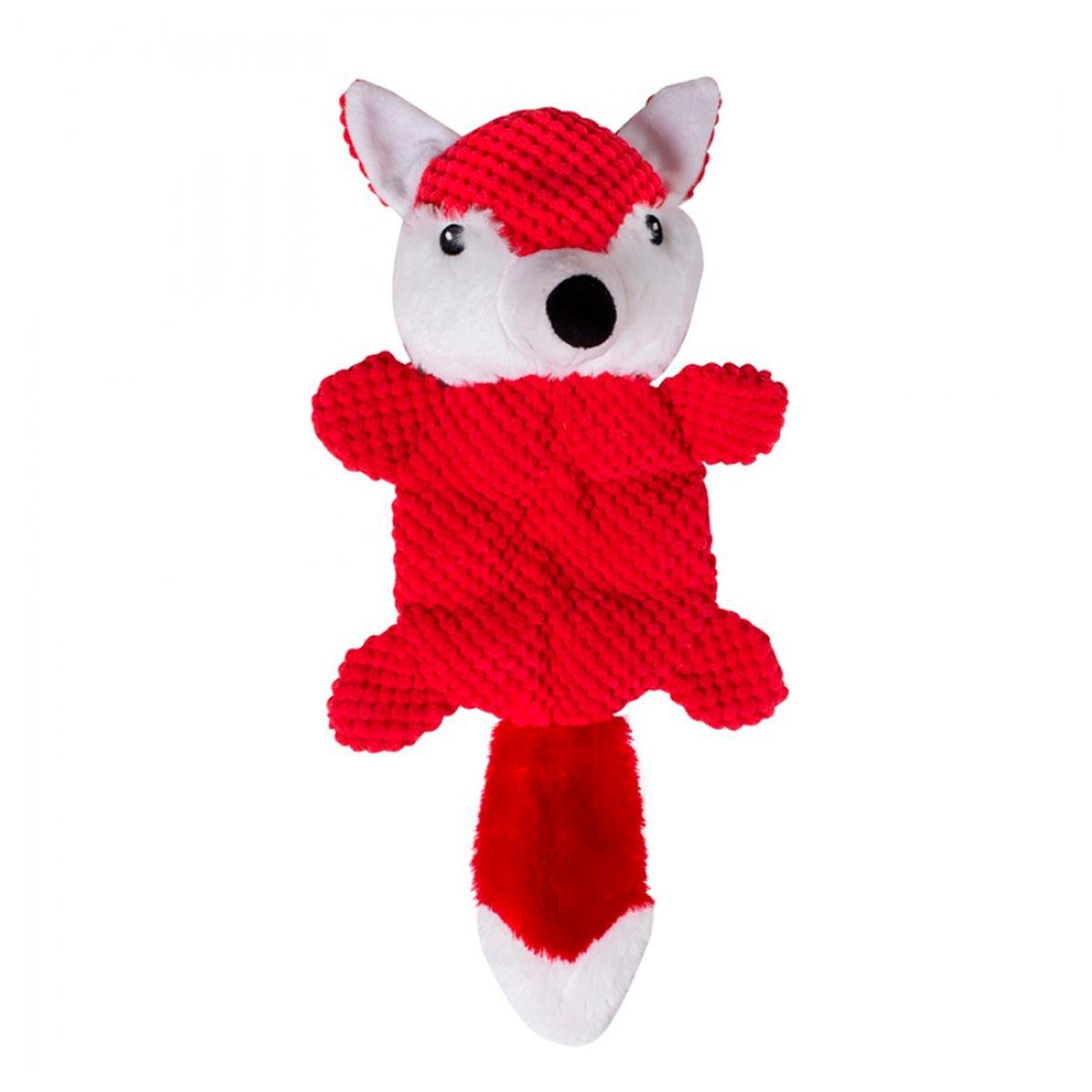 Brinquedo de Pelúcia para Cachorro Raposa Antiestresse Adoleta