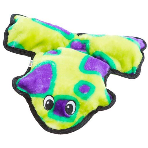 Brinquedo de Pelúcia Super Resistente para Cachorro Outward Hound Sapo Verde
