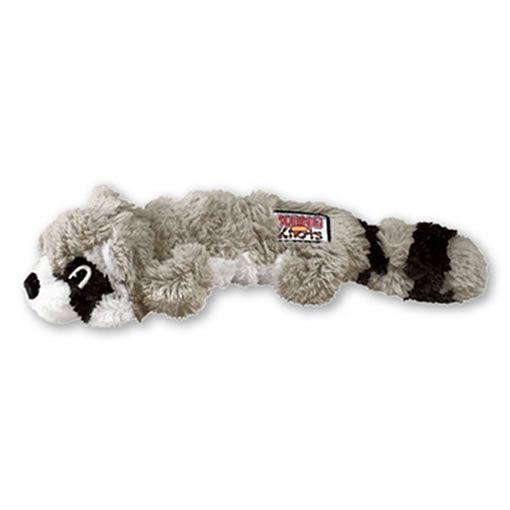 Brinquedo Knots Raccoon Kong para Cães
