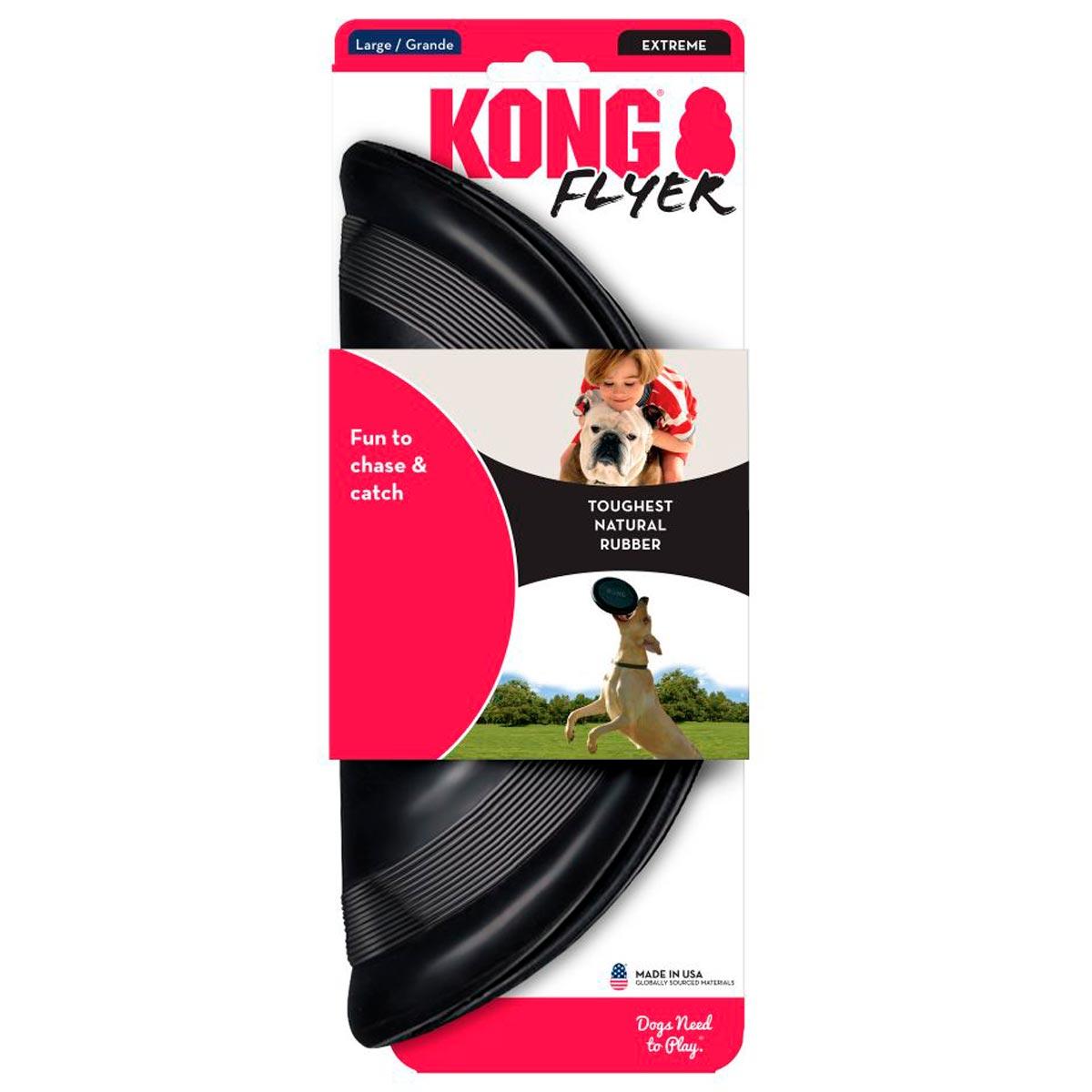 Brinquedo Kong Disco Flexível Extreme Flyer