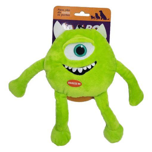 Brinquedo Mordedor Pelúcia Monstro Verde Jambo - Grande
