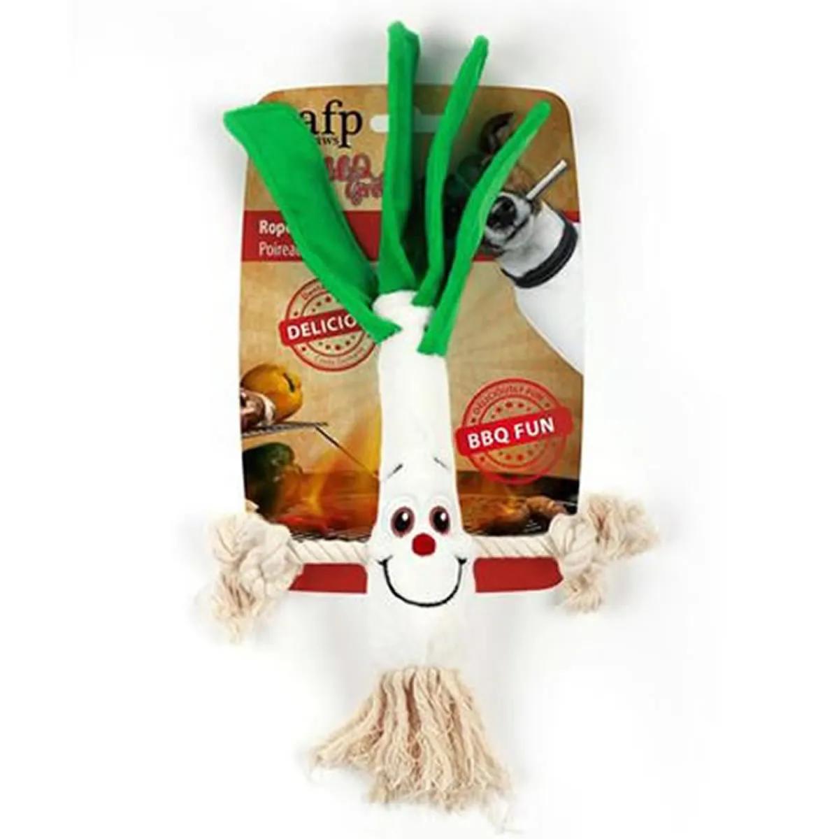 Brinquedo para Cachorro AFP - All For Paws Alho Poró de Pelúcia