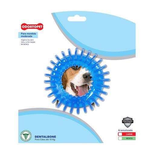 Brinquedo para Cachorro Argola Espacial Dentalbone Odontopet para Cães até 15 Kg