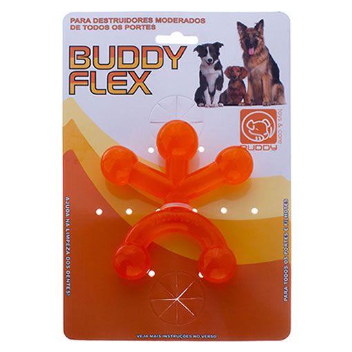 Brinquedo para Cachorro Buddy Toys Boneco Flex