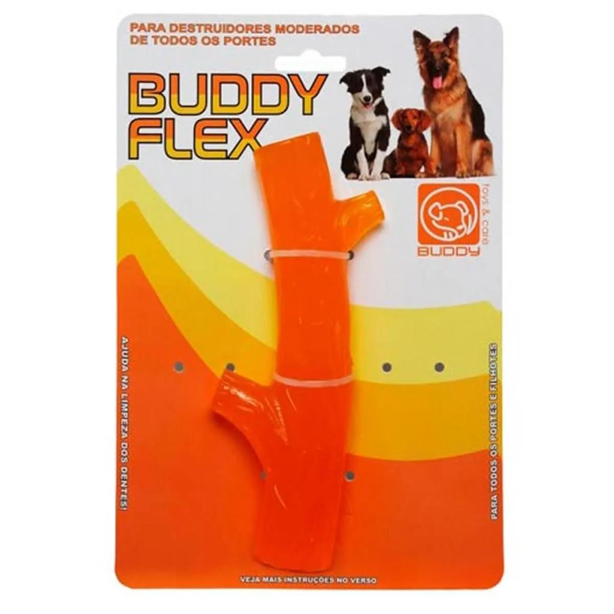 Brinquedo para Cachorro Buddy Toys Graveto Flex