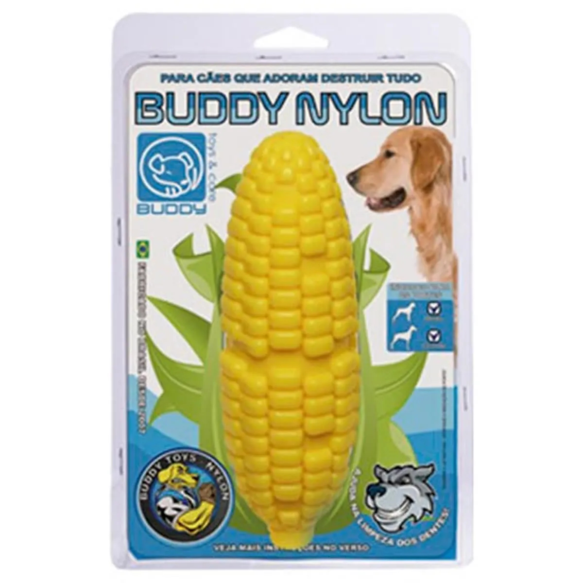 Brinquedo para Cachorro Buddy Toys Milhão de Nylon