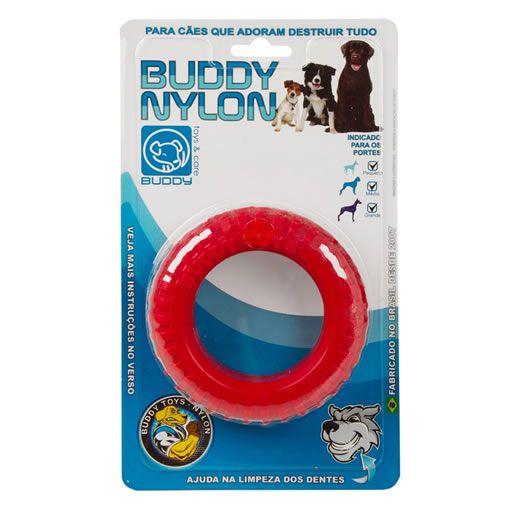 Brinquedo para Cachorro Buddy Toys Pneu de Nylon