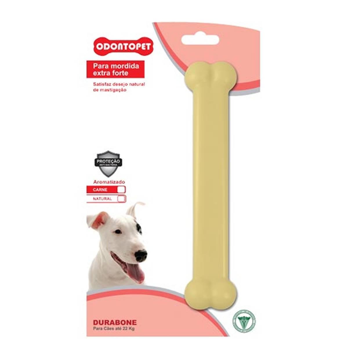 Brinquedo para Cachorro Durabone Odontopet Bege