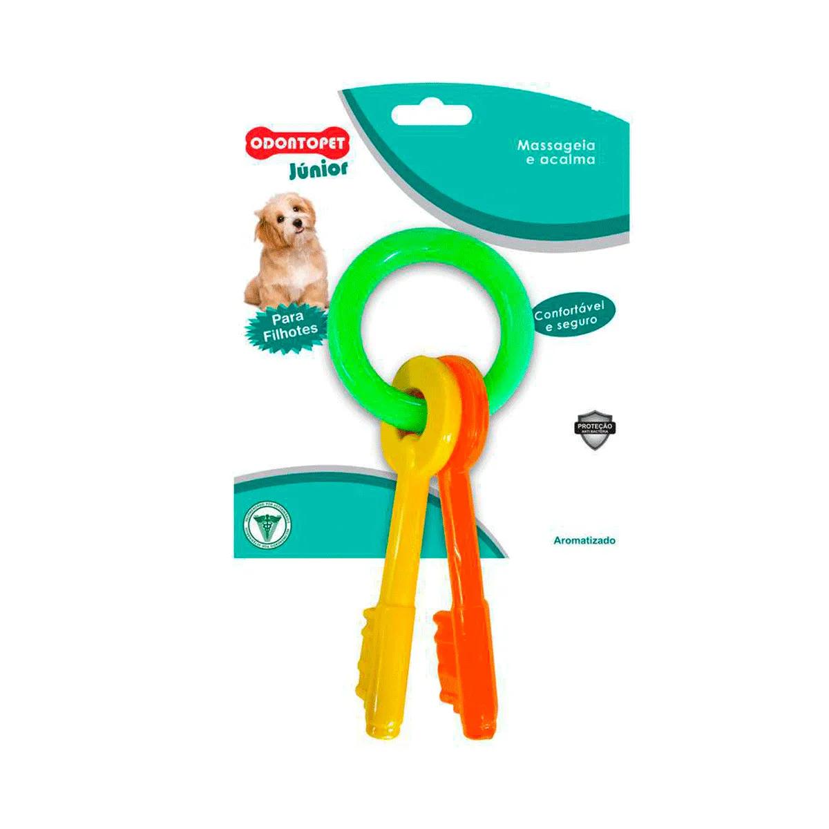 Brinquedo para Cachorro Filhote Chaves Odontopet