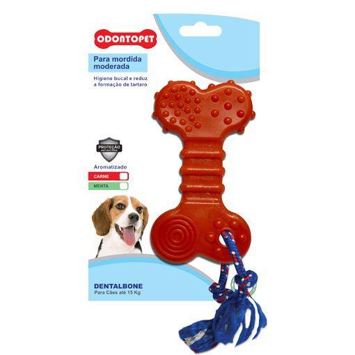 Brinquedo para Cachorro Flat com Corda Dentalbone Odontopet