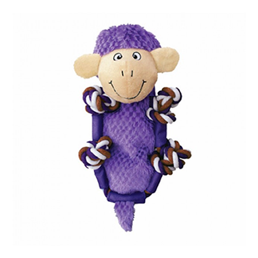 Brinquedo para Cachorro Kong Ovelha Pelúcia Barnyard Sheep