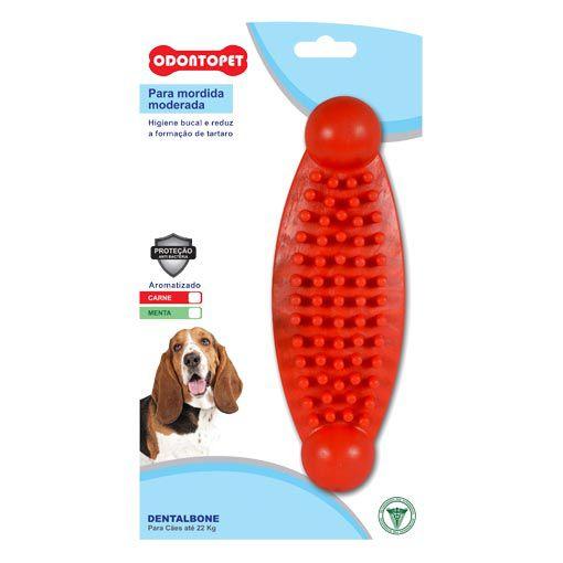 Brinquedo para Cachorro Massageador Dentalbone Odontopet Vermelho