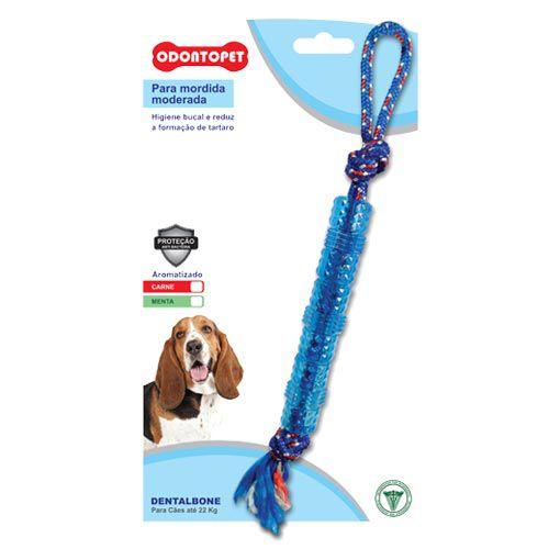 Brinquedo para Cachorro Tubo com Corda Dentalbone Odontopet
