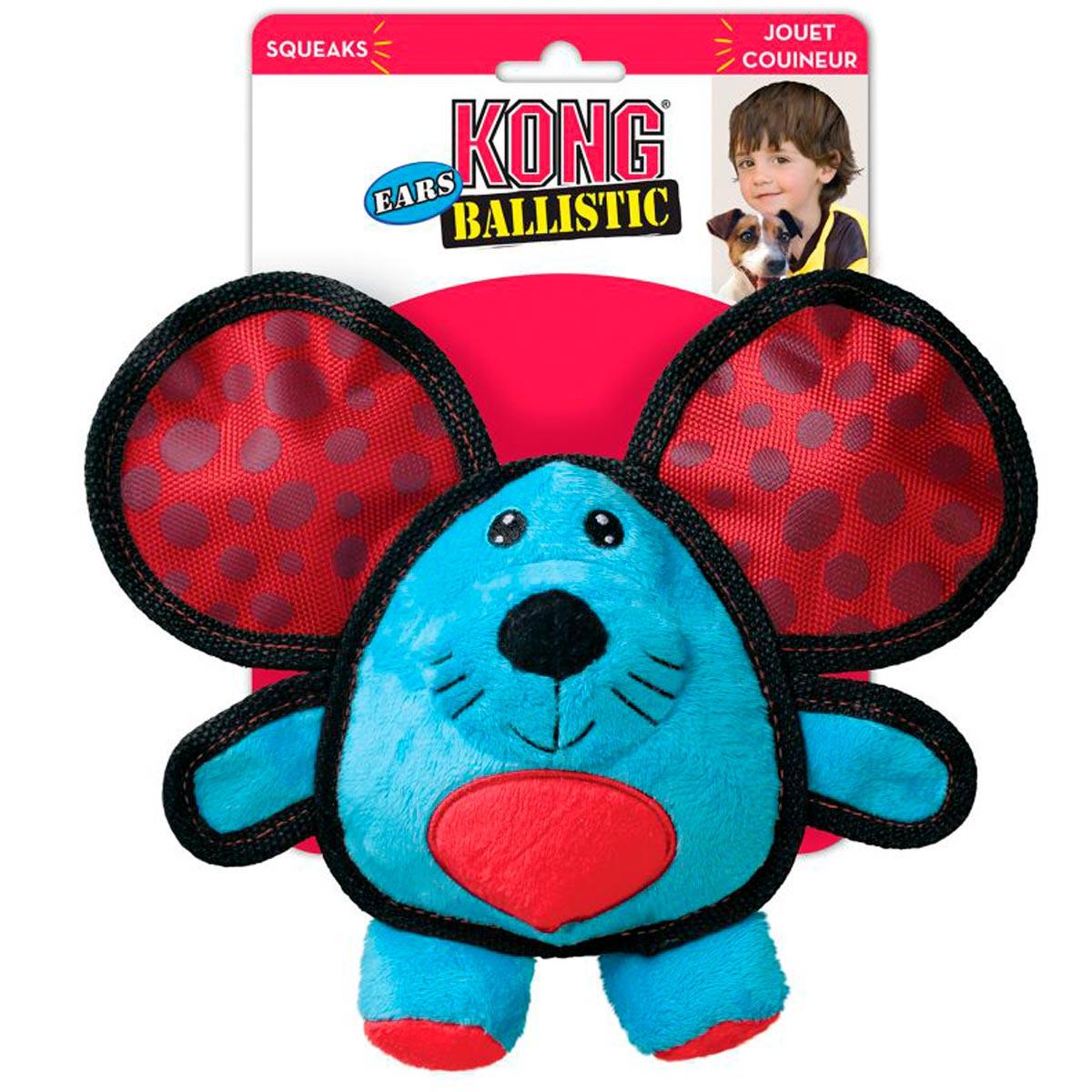 Brinquedo para Cães Kong Ballistic Ears Mouse