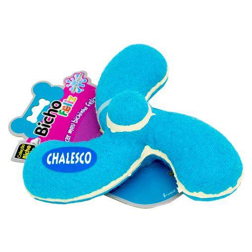 Brinquedo para Cães Manopla Flex Chalesco Azul