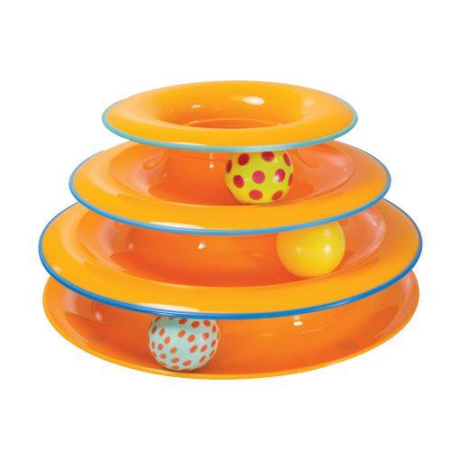 Brinquedo para Gato Torre de Trilhos Petstages