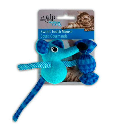 Brinquedo para Gatos AFP Modern Cat Ratinho do Doce Azul - Sweet Tooth Mouse