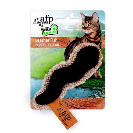 Brinquedo para Gatos AFP Wild & Nature Minhoca de Couro - Leather Friends