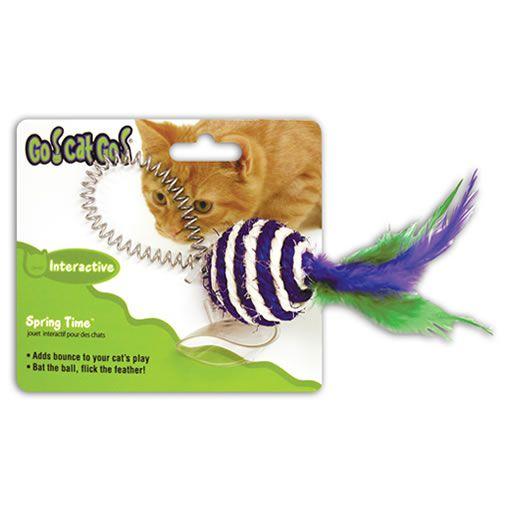 Brinquedo para Gatos Bolinha de Sisal tipo Pugilista
