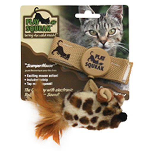 Brinquedo para Gatos Pulseira Mouse Play N Squeak