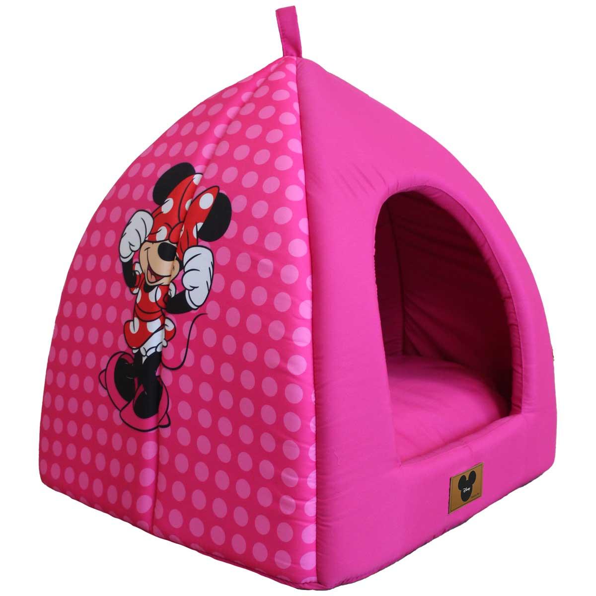 Cabana para Cães e Gatos Poa Pink Minnie Disney
