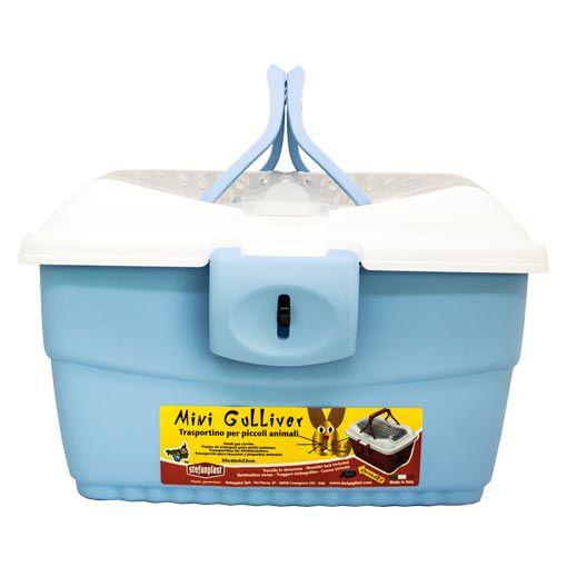Caixa Transporte Mini Gulliver American Pets Azul8