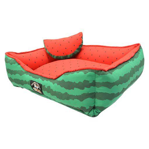 Cama Melancia Emporium Distripet Verde e Vermelha