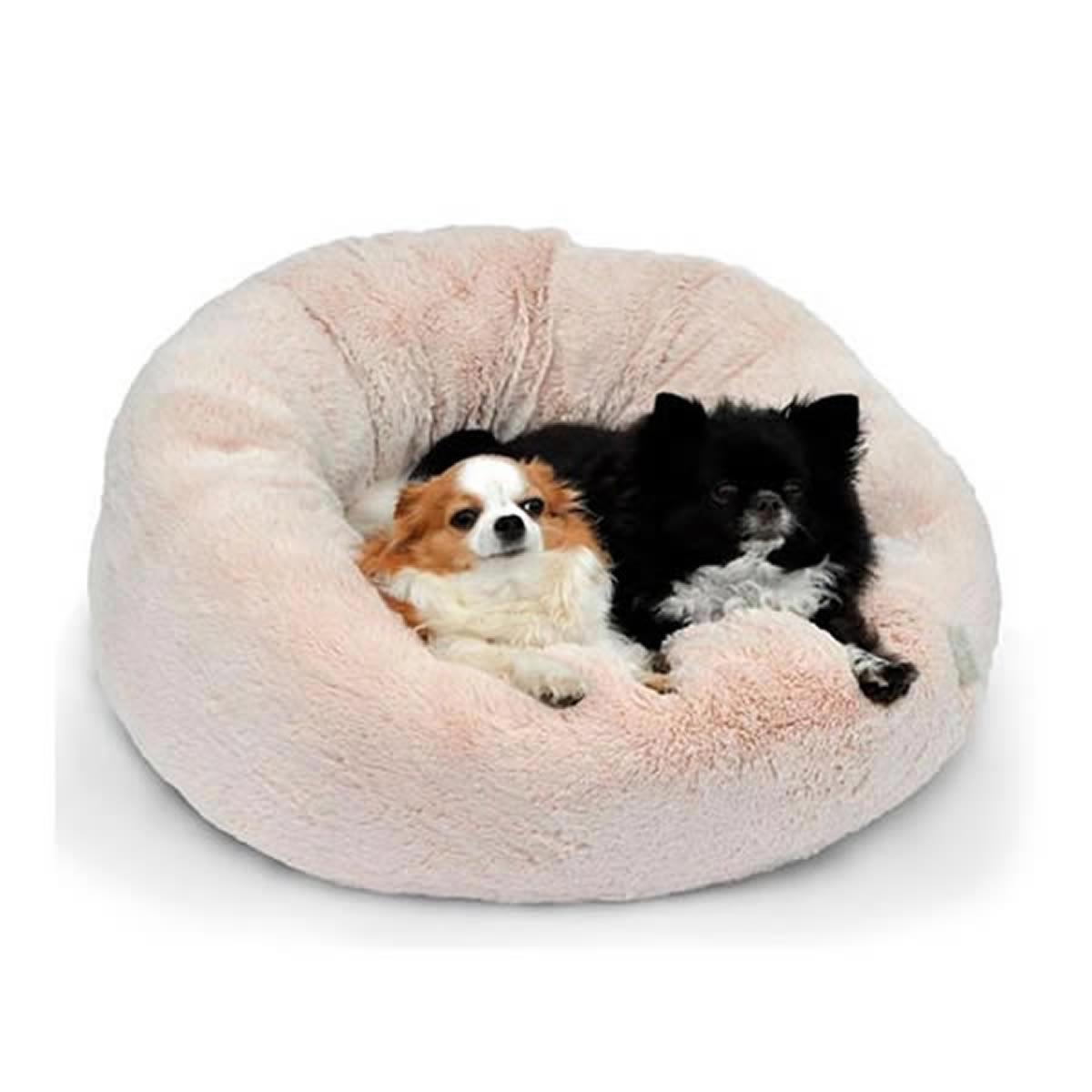Cama para Cachorro e Gato Canada Bichinho Chic Bege