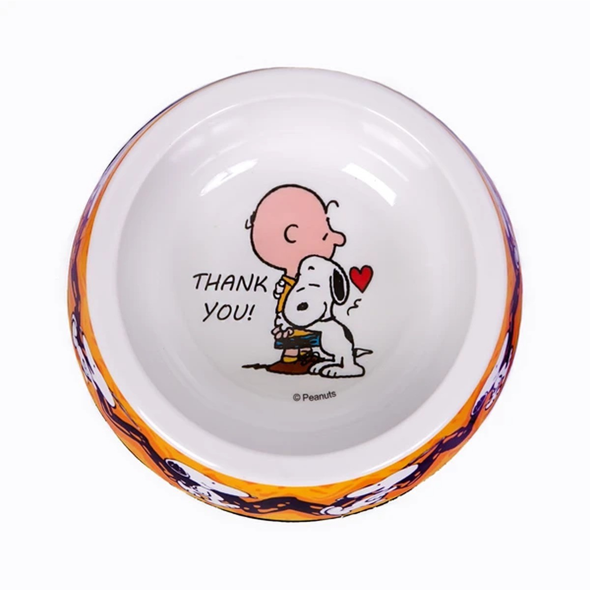 Comedouro para Cachorro Melanina Snoopy Charlie Brown Zooz Pets