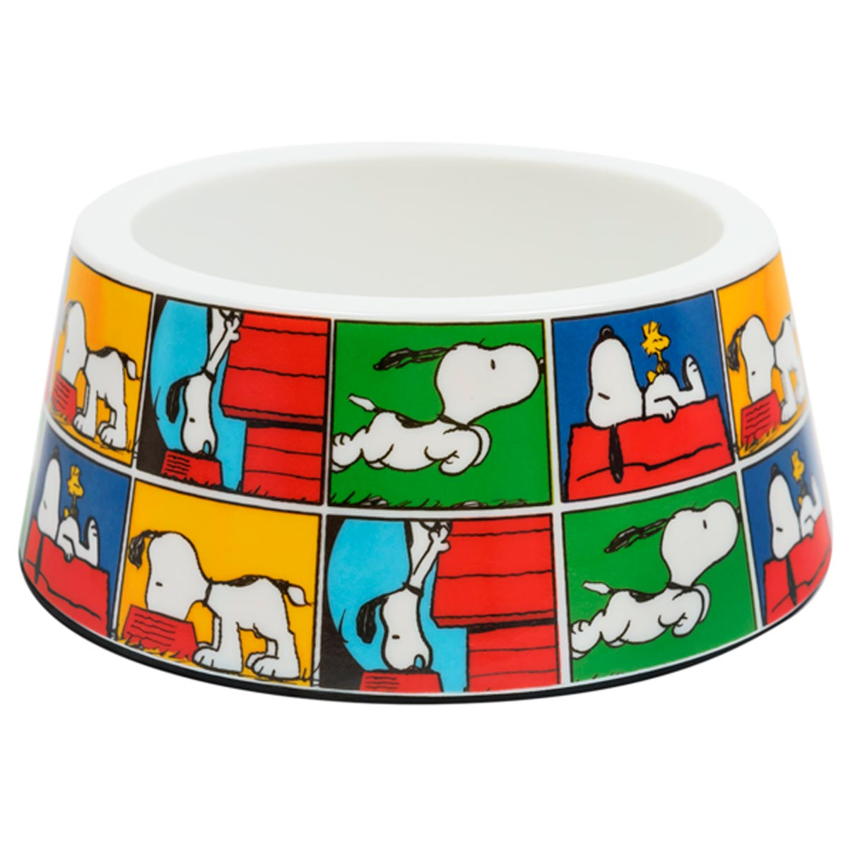 Comedouro para Cachorro Melanina Snoopy Quadradinho Zooz Pets