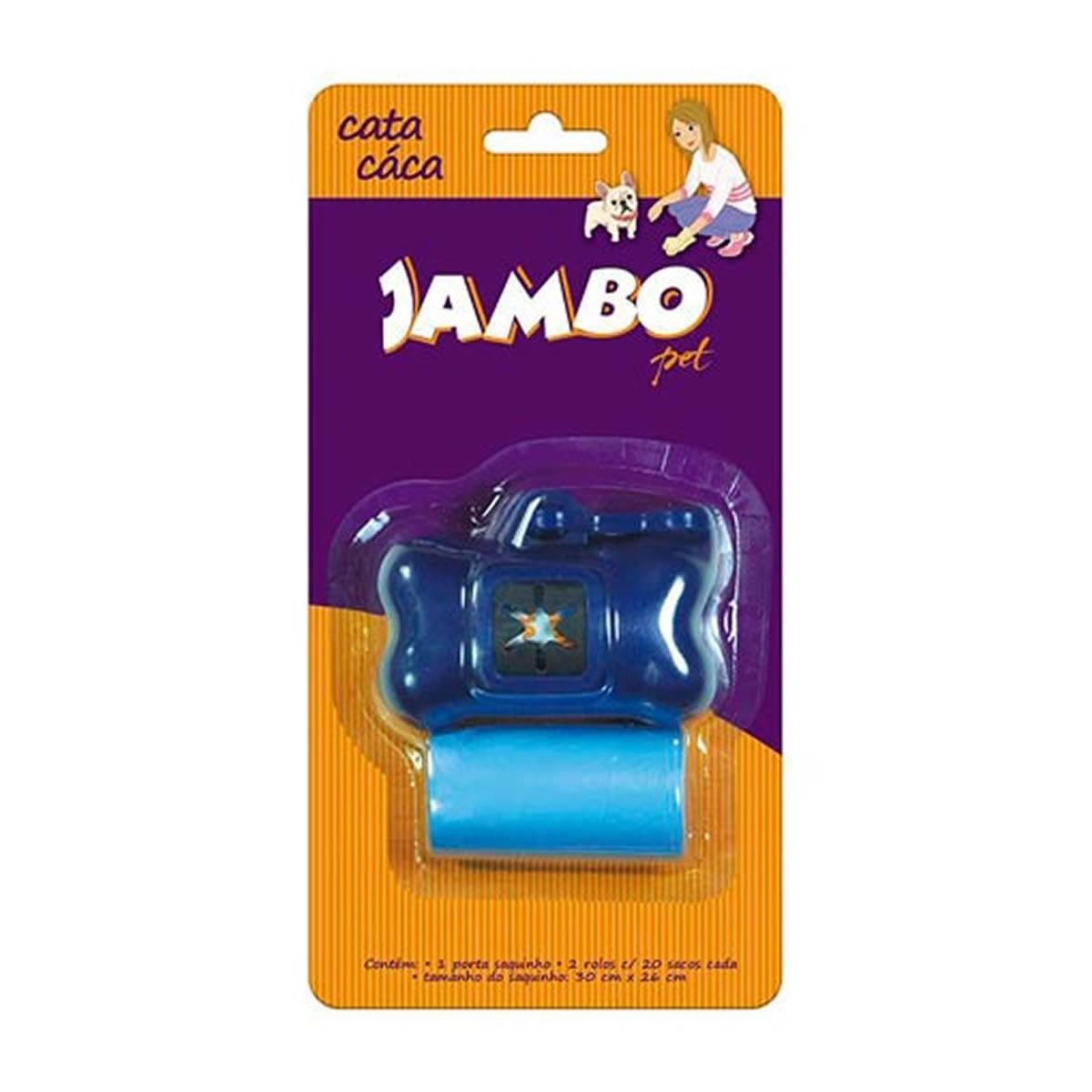 Conjunto Cata Caca Basic Jambo Pet Azul