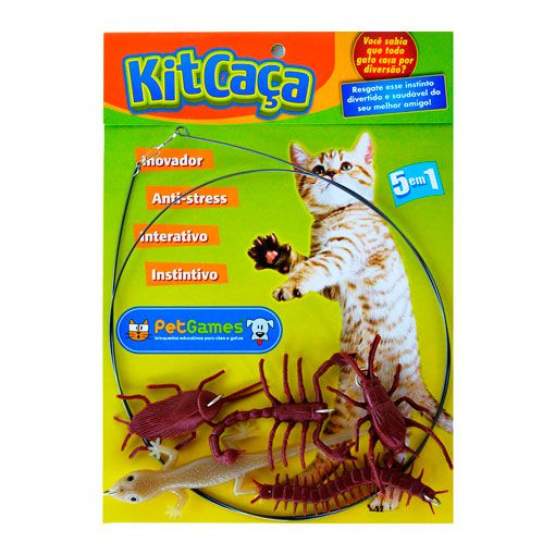 Kit Caça Para Gatos Pet Games