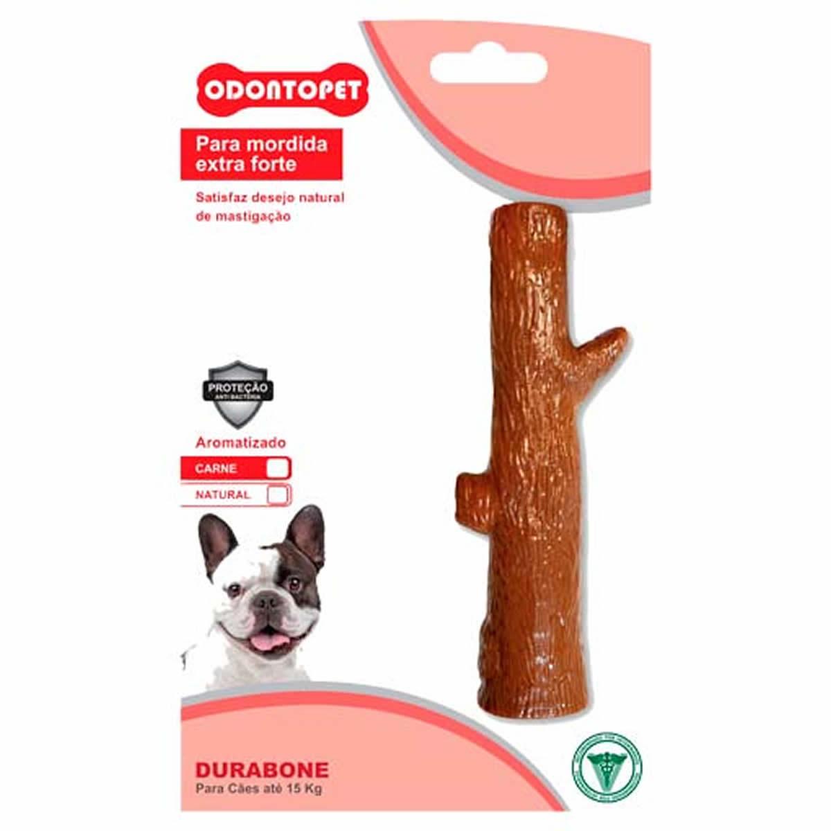 Mordedor para Cachorro com Mordida Extra Forte Odontopet Tronco