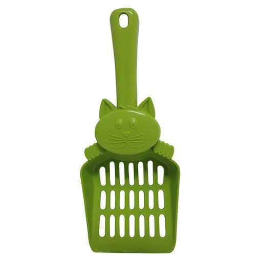 Pá de Plástico para Liteira Mr. Pet-Verde