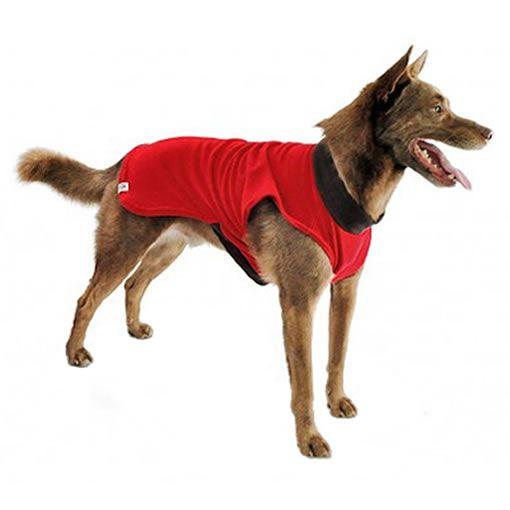 Roupa para Cachorro Camiseta Básica Vermelha Bichinho Chic
