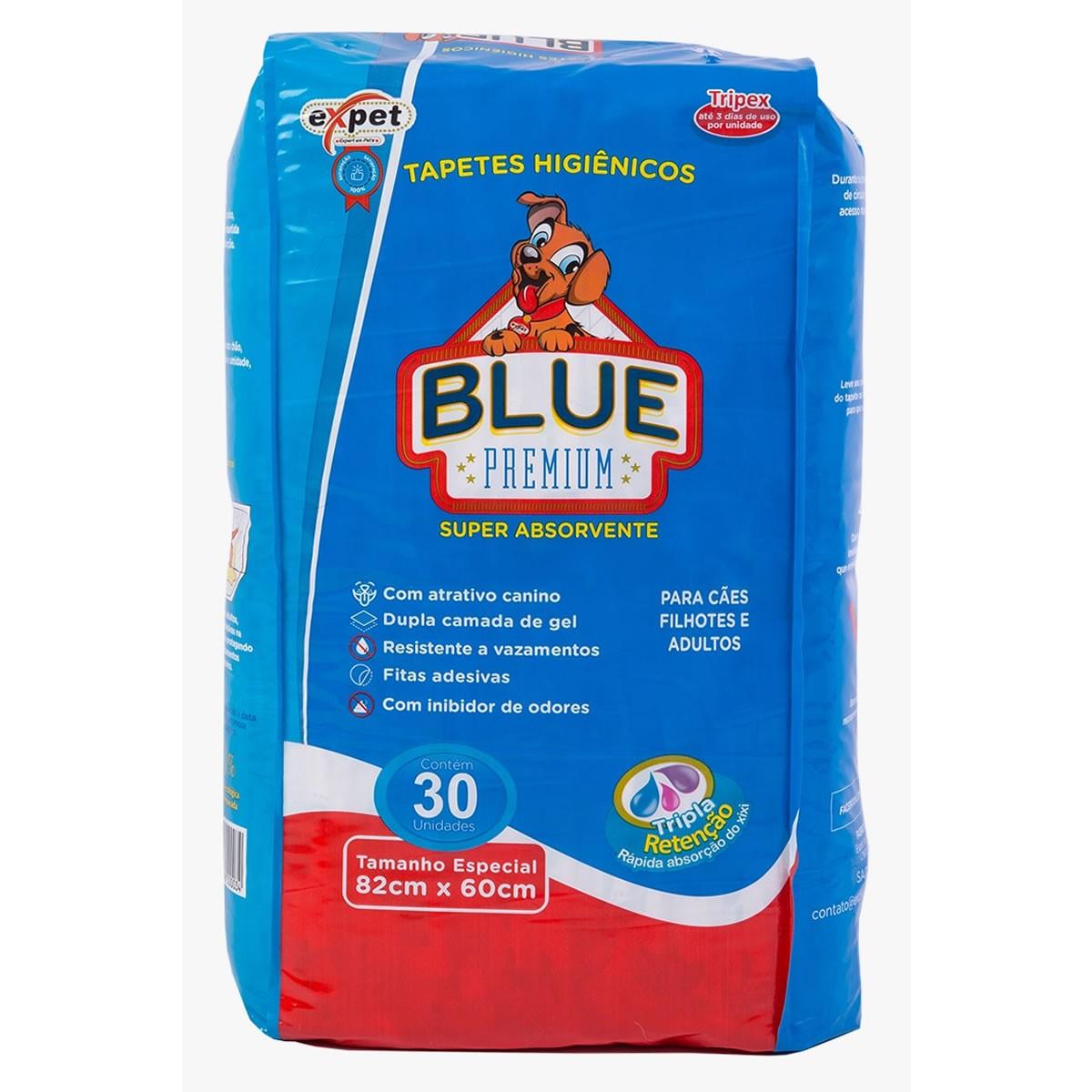 Tapete Higiênico Blue Premium Expet para Cães