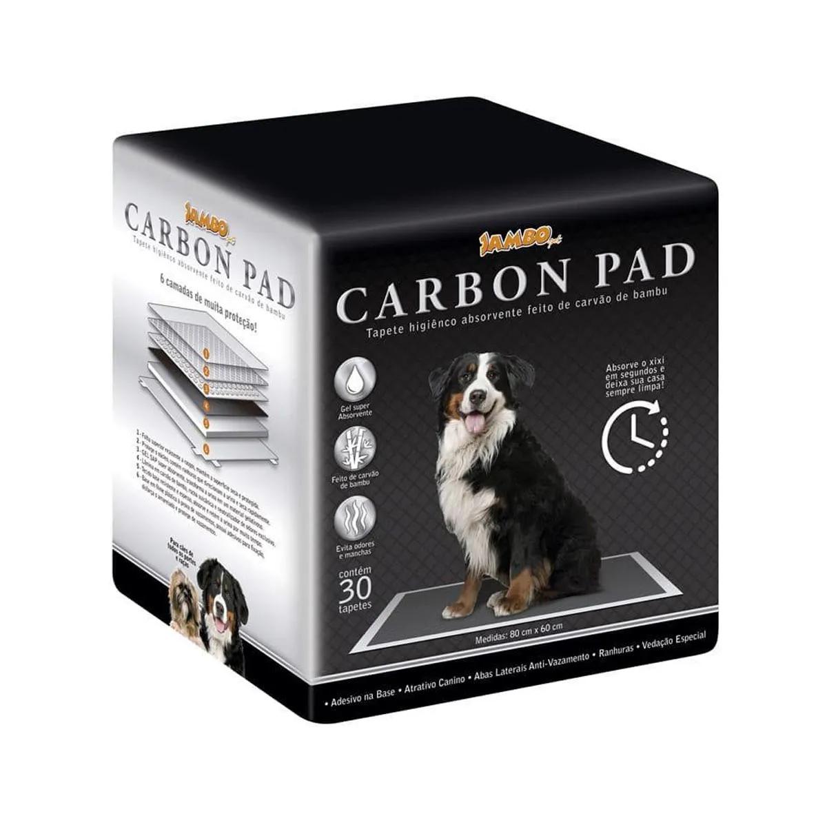 Tapete Higiênico Carbon Pad para Cães Jambo