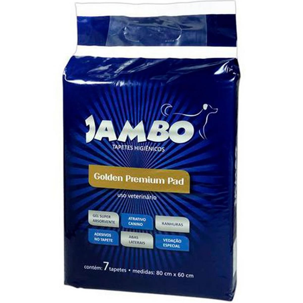Tapete Higiênico Golden Premium Pad para Cães Jambo